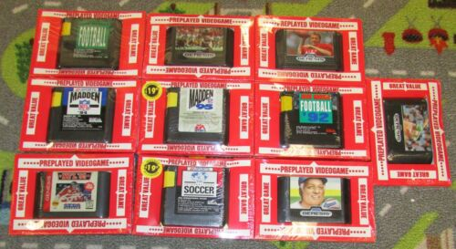 Lot of 10 Sega Genesis Sports Games Fast Shipping!