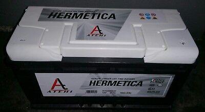 Bateria 90Ah 750A. 12V Para coche Garantia de 2 años Atehi Hermetica segunda mano  Valencia