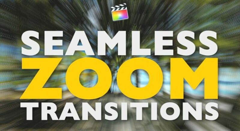 Zoom Transitions Final Cut Pro 10.4.8