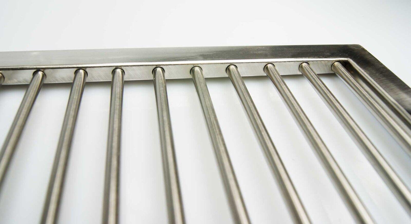 edelstahl grillrost 60 x 40 cm griffe handarbeit grillkamin grill 6mm st be v2a eur 73 90. Black Bedroom Furniture Sets. Home Design Ideas