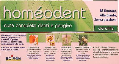 Boiron Homöopathische Medizin (Zahnpasta HOMEODENT Homöopathische Medizin bei Pflanzen ohne Parabene mit)