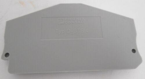 (33) Phoenix Contact D-STS4 Terminal Block End Caps