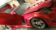 2004 Nissan 350Z Track, Custom Wide Body Kit, Candy Apple Red Perth Perth City Area Preview