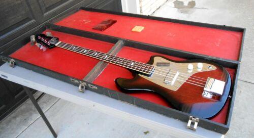 Kent Teisco Basin St. Bass #534 Very Good Condition All Original Including Case