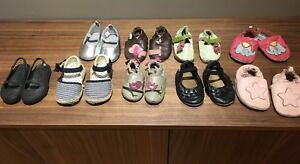 Baby girl Robeez and other shoes