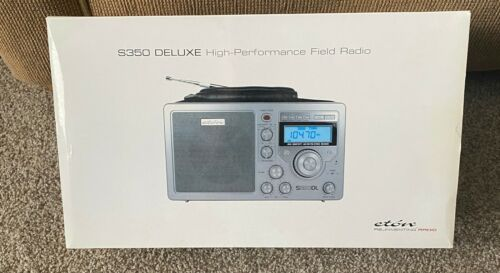 Eton (Grundig) S350DL am/fm shortwave radio in original box