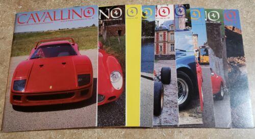 Cavallino Ferrari Magazine - LOT OF 10 -  Issues  41 - 50