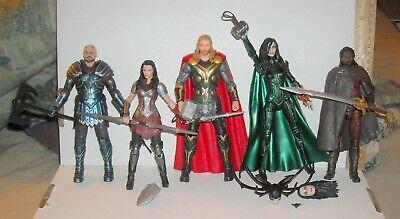 Marvel Legends Thor MCU Lot HELA LADY SIF SKURGE HEIMDALL 10th Anniversary THOR