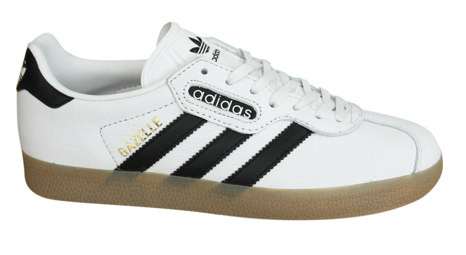 fbf4271613 Details about Adidas Originals Gazelle Super Mens Trainers Lace Up Shoes  Leather BB5243 D32