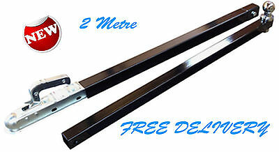 BOAT TRAILER LAUNCHING POLE / RETRIEVAL BAR (2 Metre Extension Reach Arm) HITCH