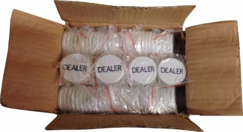 Dealer Buttons Case of 288 for POKER HOLD