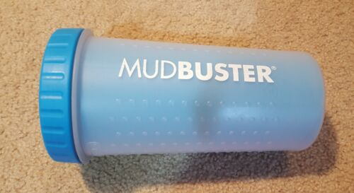 Dexas Mudbuster Portable Dog Paw Washer Paw Cleaner Blue Large