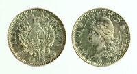Pcc1816_2) Argentina 10 Centavos 1883 Silver - Scratch -  - ebay.it