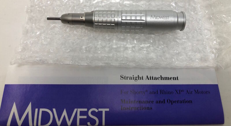 Midwest Straight Attachment for Shorty & Rhino Motors - New Without Box - 720005