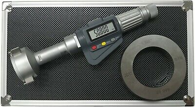 3-point Internal Micrometer Hole Bore Gauge Gage1.6-2.0 0.000050.001mm