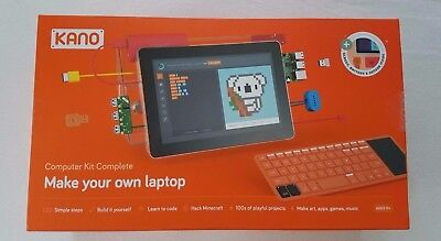 KANO Computer Kit Complete with screen Make your own laptop