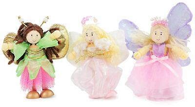 Traditional Wooden Toys (Le Toy Van TRADITIONAL TOYS TRUTH FAIRIES TRIPLE PACK Wooden Toy)
