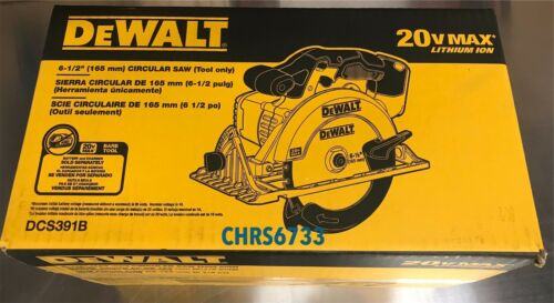 Brand New Dewalt DCS391B 20V Cordless Battery Circular Saw 2