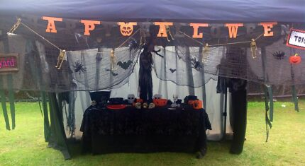 Book your Halloween themed gazebo here! Brisbane South West Preview