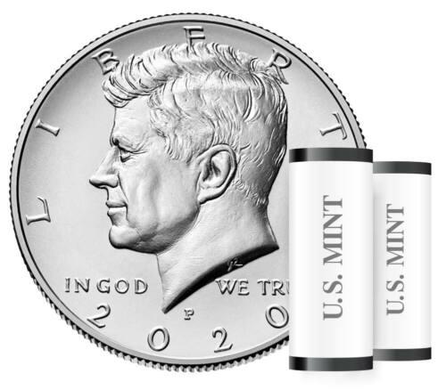 2020 P&D BU/MS Kennedy Half Dollars from Original U.S. Mint Bag