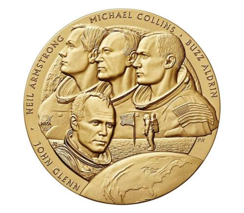 """2019 NEW FRONTIER CONGRESSIONAL MEDAL GIVEN TO ASTRONAUTS 1 1/2"""" ~NOW AVAILABLE"""