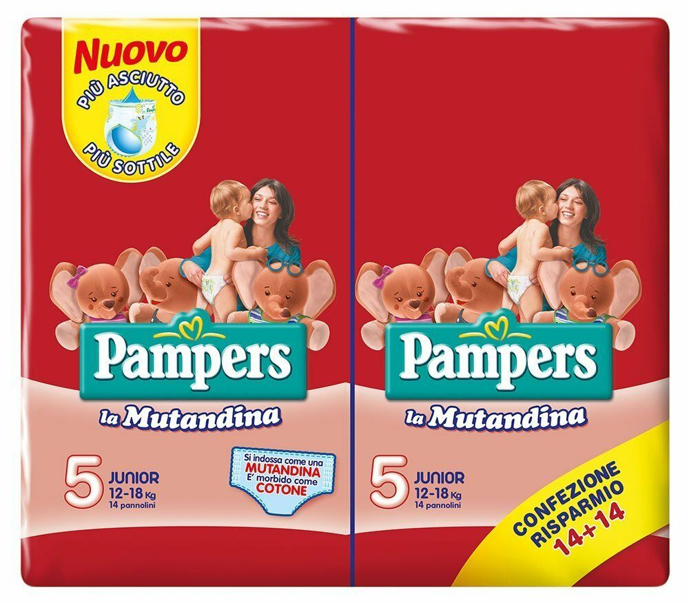 Pampers Easy up Pants Gr.5 Junior 12-18kg 28er Pack