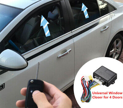 12V Auto Car Automatic Window Closer Power Window Roll Up Closer Alarm System-US