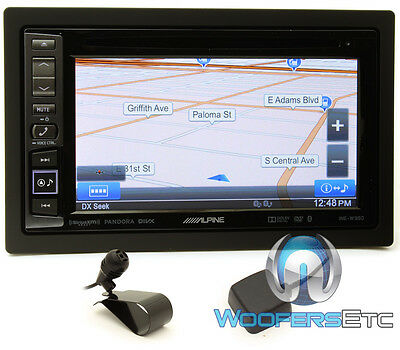 "Alpine - 6.1"" - Built-in Gps - Cd/dvd - Built-in Bluetooth -"