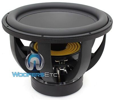 "RE AUDIO XX18V2D2 WOOFER 18"" 1500W RMS DUAL 2-OHM CAR SUBWOOFER BASS SPEAKER NEW"