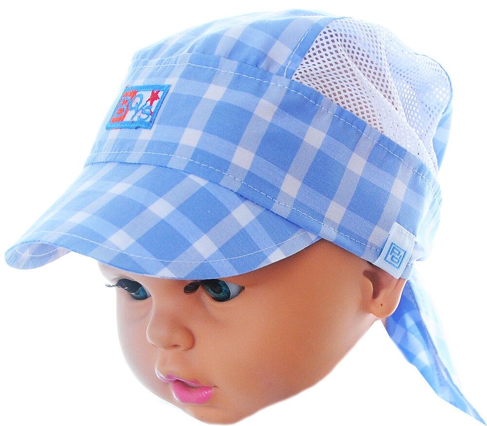 Kopftuch Baby Kinder Sommer Mütze Mützchen Kopfbedeckung Bandana one size
