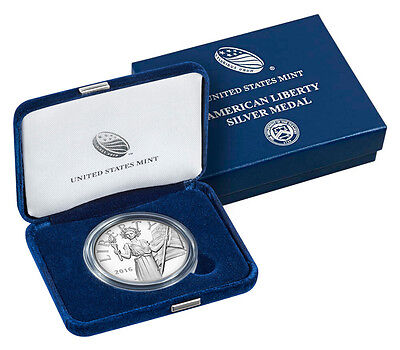 2016-W 1 oz. Proof Silver American Liberty Medal (Mint Packaging) SKU42388