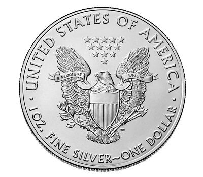 2018 1 oz American Silver Eagle $1 GEM BU Coin SKU51557