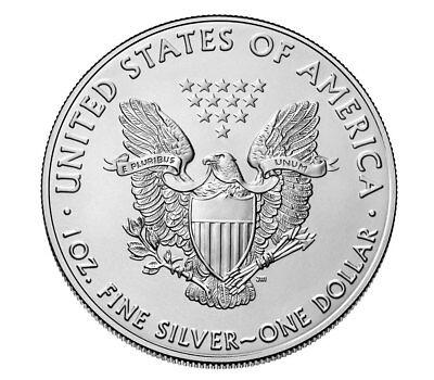 2018 1 oz American Silver Eagle $1 GEM BU Coin SKU51557