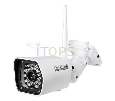 1080p Metall WLAN HD IP IR Überwachungskamera Aussenkamera Nachsicht wetterfest