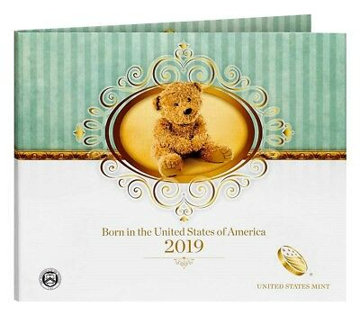 2019 S US MINT BIRTH SET (19RD) BIRTHDAY GIFT 5 COIN PROOF SET Official Issue (Birthday Coin Set)