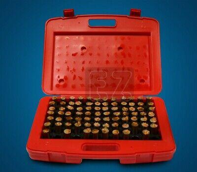 M5 Minus Plug Pin Gage Gauge Set 0.751-0.832 82 Pcs