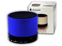 Dynamode Bluetooth Dynamic Blue Cylinder Sound System
