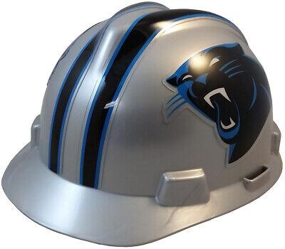MSA 818388 V-Gard NFL Cap Style Hard Hat - Carolina Panthers