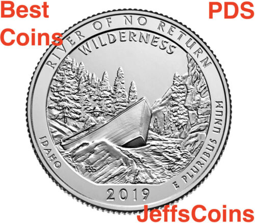 2019 P D S Frank Church River of No Return Idaho Quarters PDS Try W Mint Best 3