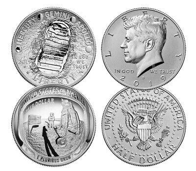 2019 S US Apollo 11 Commemorative Proof Half Dollar 19CE