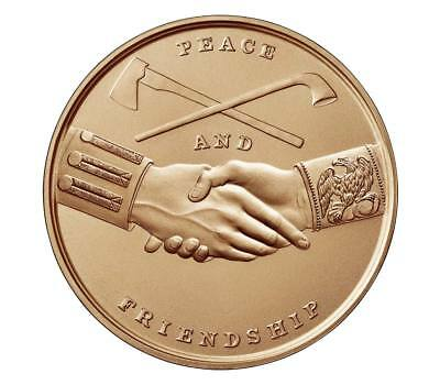 USA MEDAL BU THOMAS JEFFERSON PEACE MEDAL,SYMBOLIC FRIENDSHIP BETWEEN THE AMERIC - Usa Medals