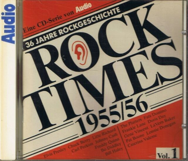 Audio Rock Times Vol. 1 1955-56 CD Various Audiophile