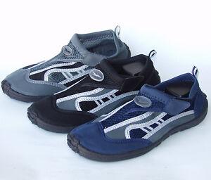 Gull-Mens-Sandals-WATER-SHOES-Aqua-Socks-Pool-Surf-Swin-Beach-Black-Blue-Gray
