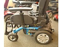 virtually new Quantum electric power wheelchair
