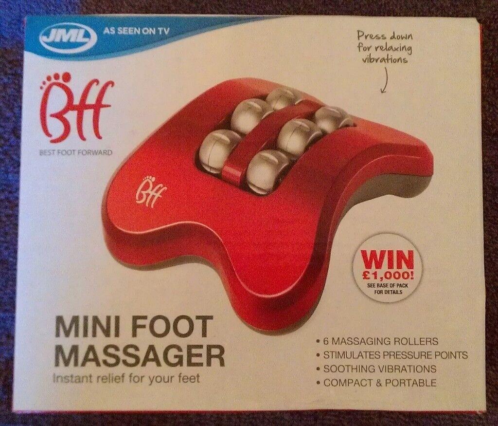 JML 'BFF Mini Foot Massager (new)