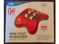 JML 'BFF Mini Foot Massager (new)