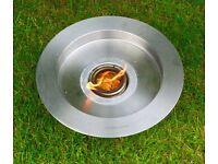 Gel burner stainless steel can be used indoors