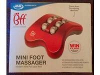 JML 'BFF' Mini Foot Massager (new)