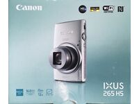 Canon IXUS 265HS Full HD WiFi 16MP camera - boxed, perfect working condition - 12x optical zoom