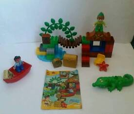 Lego duplo Jake and the neverland pirates set Peter's visit